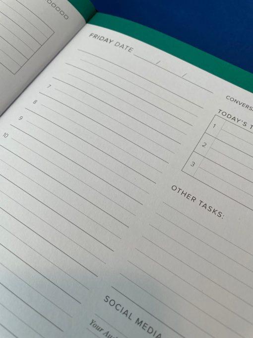quarterly undated planner